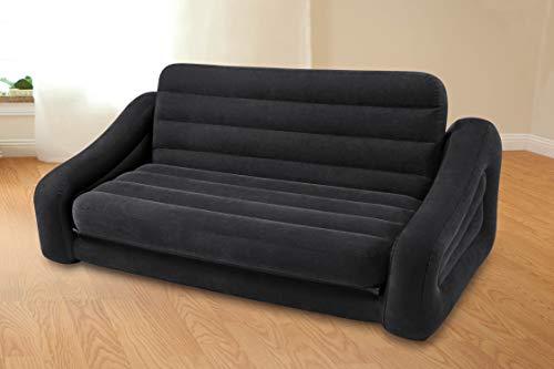Intex  - Sofá cama hinchable doble 193 x 221 x 71 cm