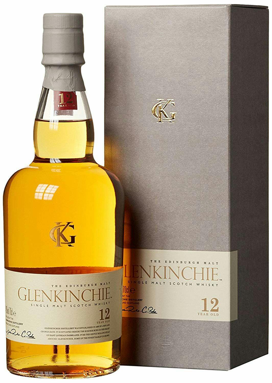 Glenkinchie Whisky Escocés 12 Años - 700 ml