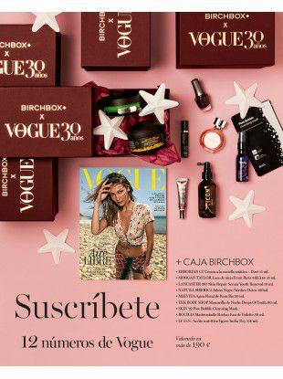 Suscripción Vogue 12 números + Birchbox edición limitada