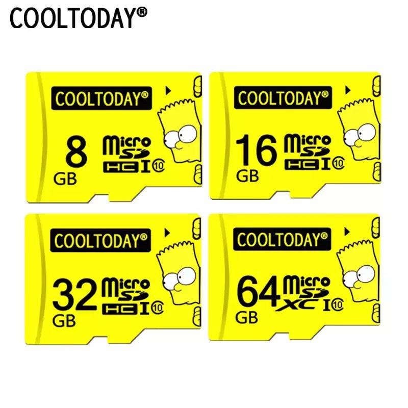 MicroSD U1 Clase 10 32GB de Bart Simpson por solo 1,98€