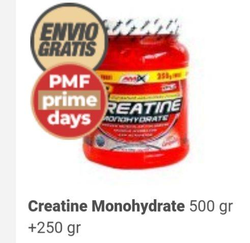 Monohidrato de creatina 750 gr.
