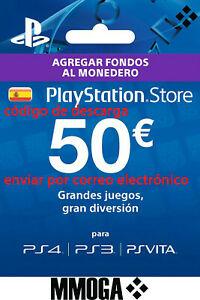 TARJETA PSN 50€ por 40,94€ (casi 10€ gratis)
