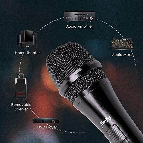 Micrófono Dinámico de Mano Profesional