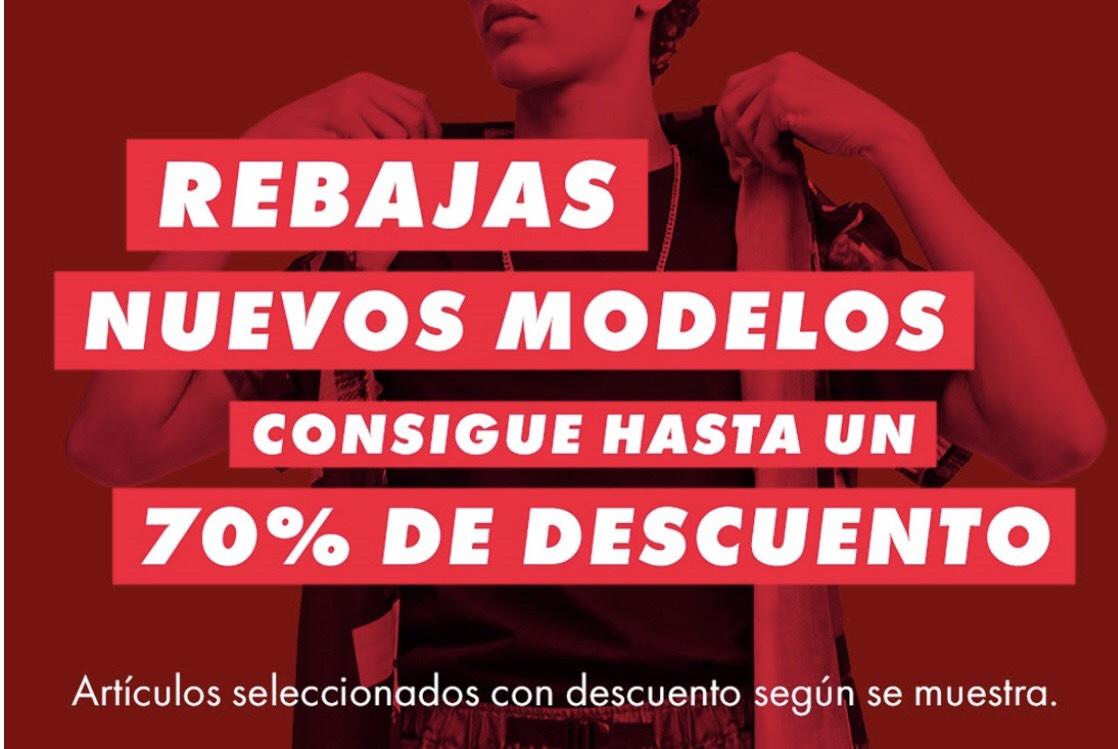 Nuevos modelos en rebajas hasta 70% en ASOS