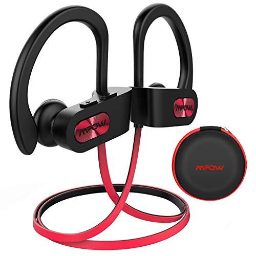 Mpow Auriculares Bluetooth Deportivos Inalámbricos IPX7 In-Ear, Cancelación de Ruido CVC 6.0