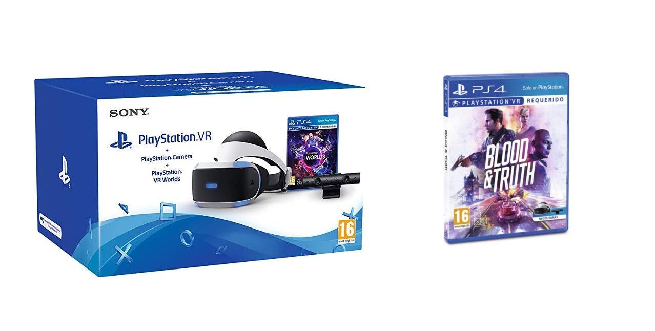 Sony - PlayStation VR Casco De Realidad Virtual
