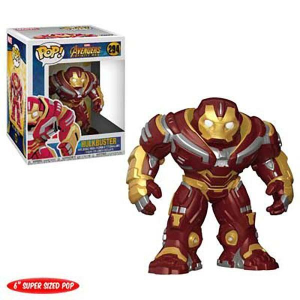 Figura Pop! Vinyl Hulkbuster - Marvel Vengadores: Infinity War
