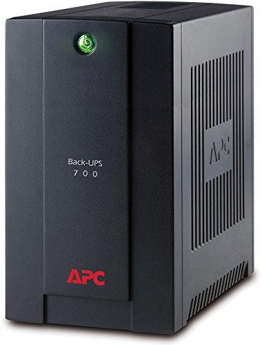 Sistema de alimentación ininterrumpida SAI 700VA (4 Tomas Schuko, AVR, USB, Software de Apagado)