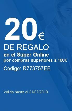 20 Euros GRATIS Supermercado Carrefour compras +100 Euros