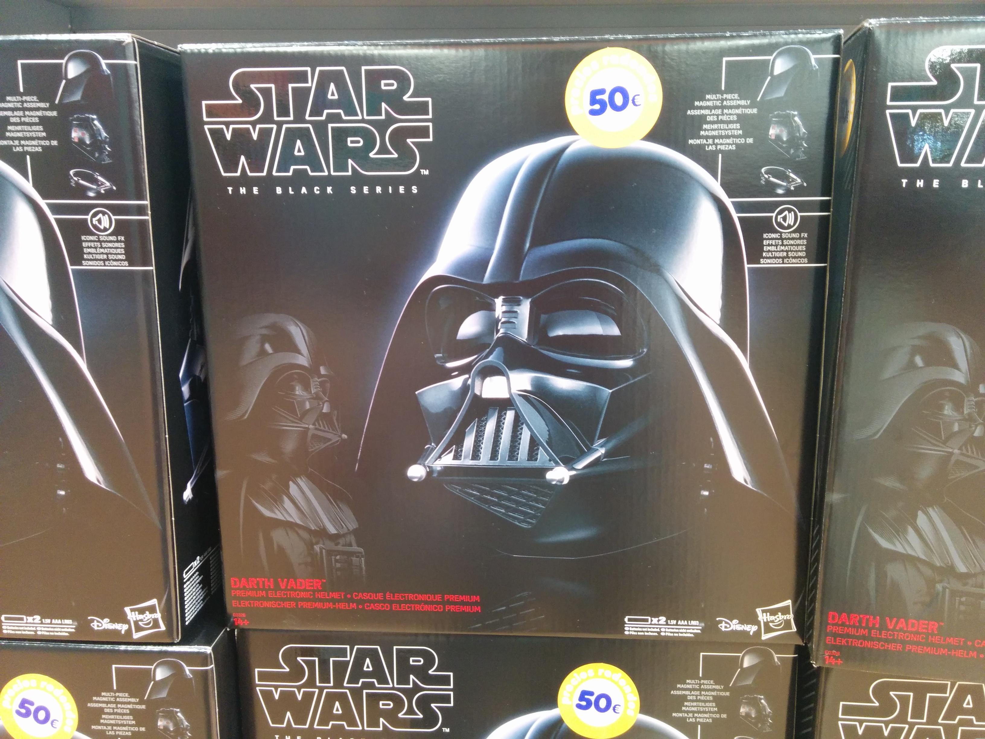 Casco Darth Vader Hasbro Black Series