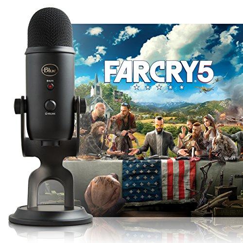 Blue Blackout Yeti Micrófono USB + Far Cry 5 PC: Streamer Bundle