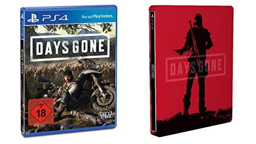 Days Gone - Standard Edition + Steelbook PS4 Amazon.DE