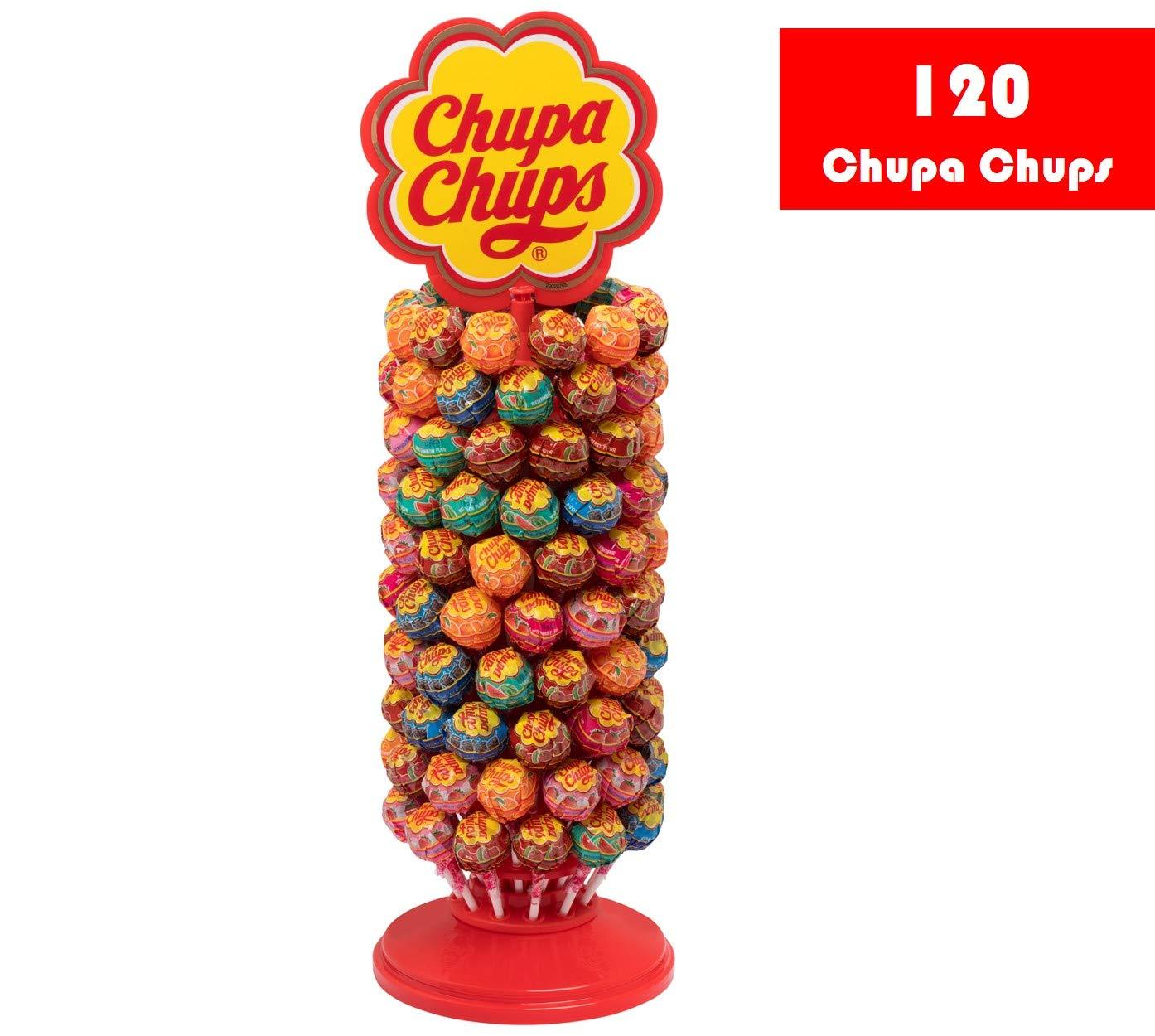 Chupa Chups Rueda de 120 Unidades, a 0,15€ unidad