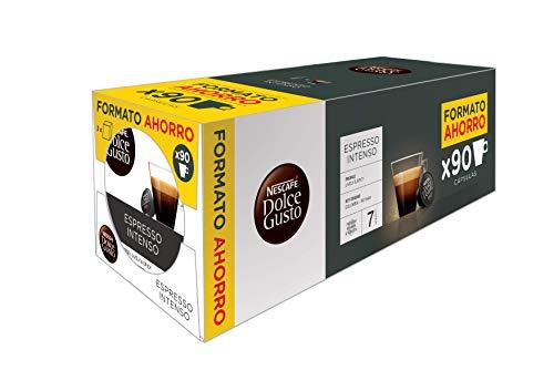 90 Cápsulas Dolce Gusto Café con Leche / Intenso a 0,17€ cápsula
