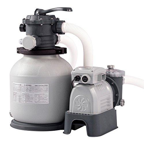 "Intex 28646 - Depuradora de arena 12"" 7.900 litros/hora, 0.50 cv"