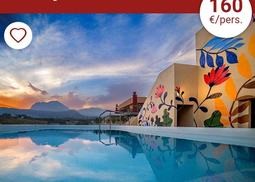 4 DÍAS/ 3 NOCHES HOTEL 4* EN BENIDORM PENSIÓN COMPLETA.160€ POR PERSONA. SÓLO PARA JULIO.