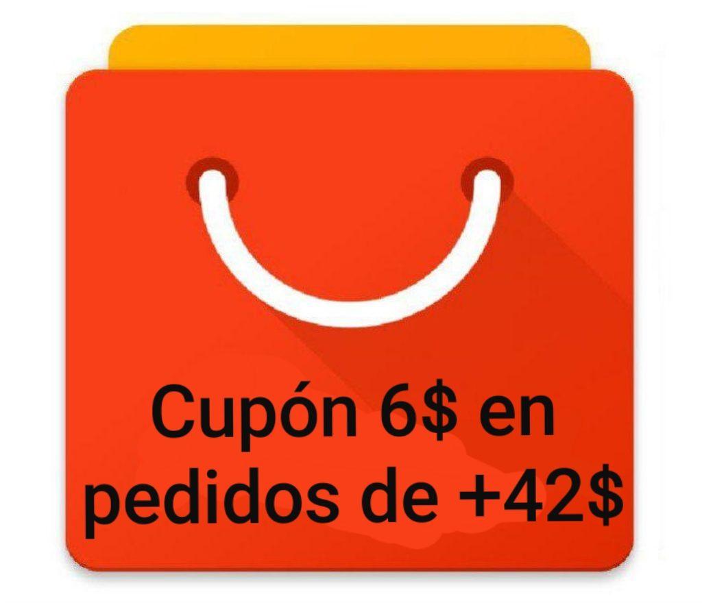 Cupón de 5.41€ en pedidos de +37.87
