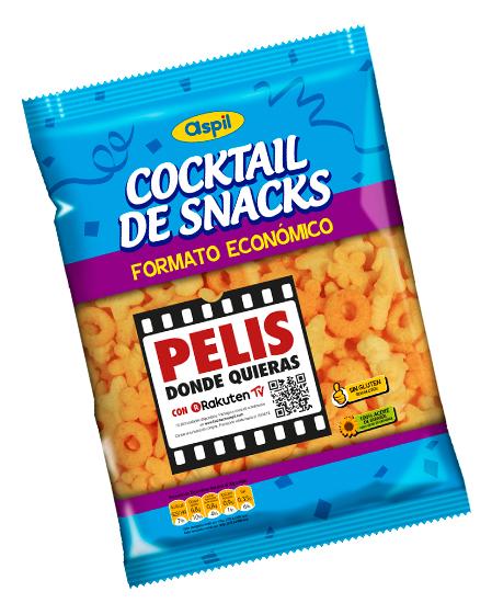 Película [GRATIS] con Snack Aspil
