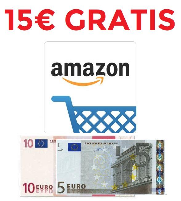 15€ al descargar app Amazon (Cuentas nuevas seleccionadas)