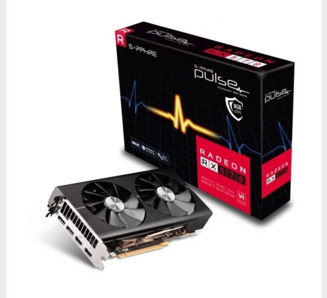 Sapphire Pulse Radeon RX 570 8GD5 8GB GDDR5