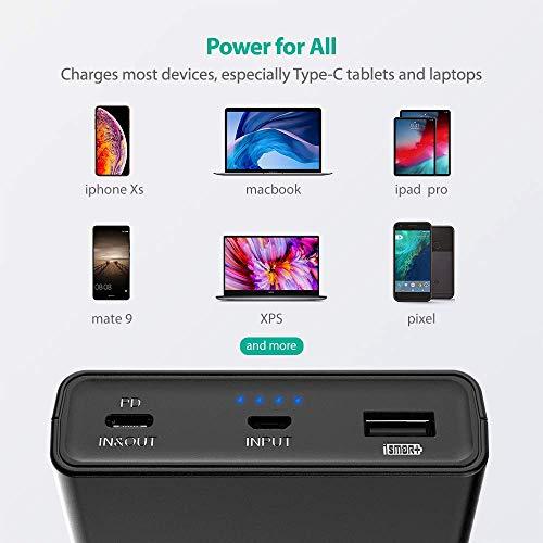 Batería externa USB-C 45W PD para Switch/MacBook/Pixel 20100 MAh