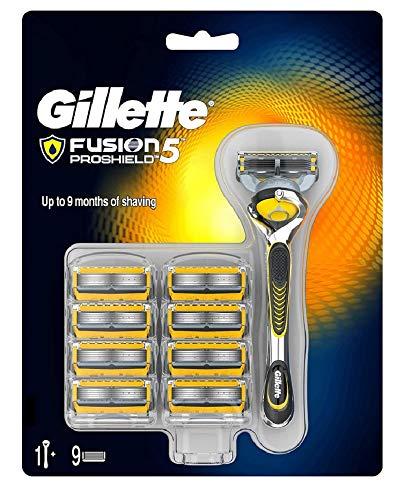 Maquinilla De Afeitar Fusion ProShield + 9 Recambios