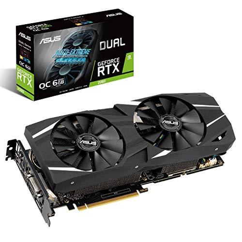 NVIDIA GeForce ASUS DUAL-RTX2060-O6 6GB