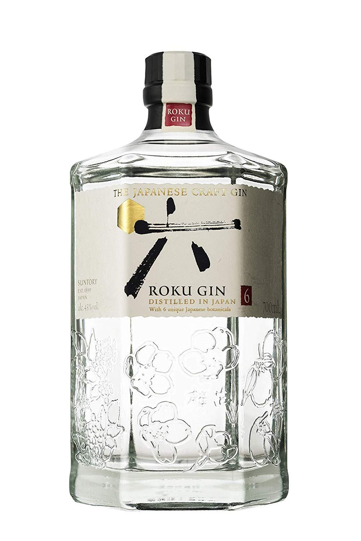 Roku Gin Japonesa - 700 ml.