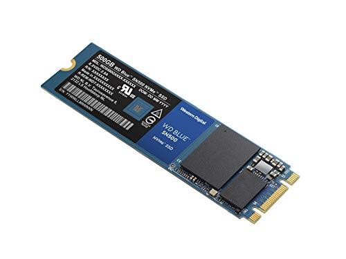WD Blue SN500 SSD 500GB NVMe M.2 (Amazon)