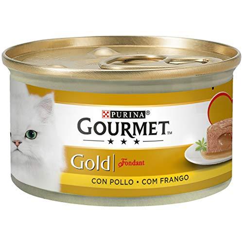 24 latas de Purina Gourmet por 7€