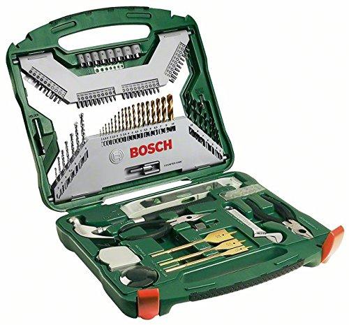 Maletín de 103 herramientas modelo Bosch X-Line Titanio