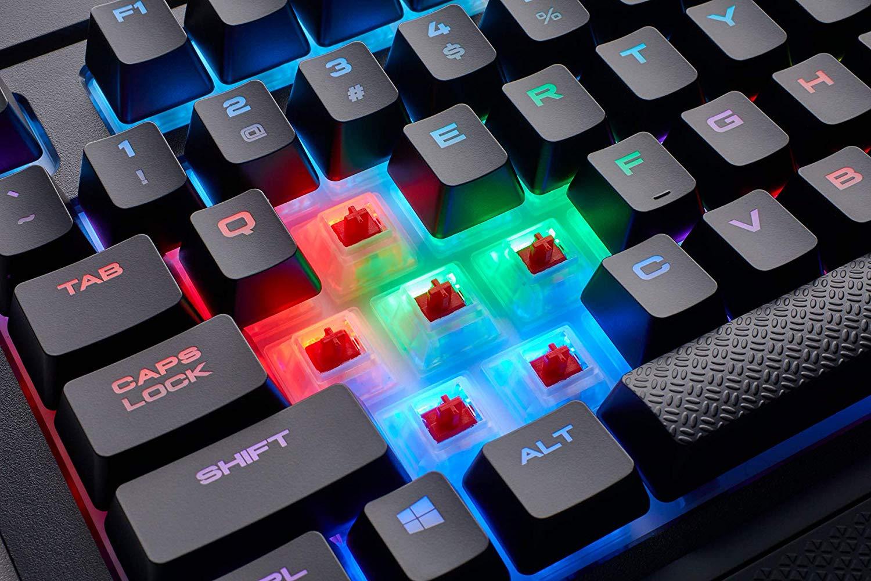 Corsair K68 RGB - Teclado mecánico Gaming