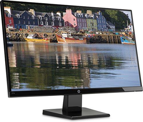 "HP 27W - Monitor de 27"" (Full HD, 1920 x 1080 pixeles, Plug and Play, IPS, HDMI, VGA, 1000:1, 16:9)"