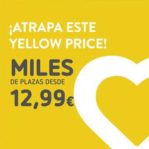 20.000 plazas de vuelo desde 12,99 euros en Vueling (1 septiembre)