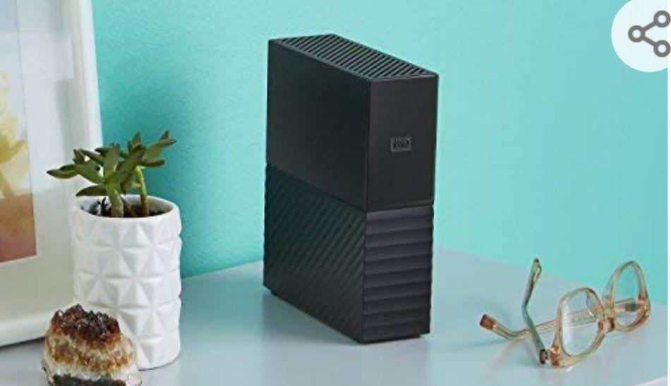 """WD My Book - Disco Duro Externo de sobremesa de 8 TB, 3.5"""", USB 3.0, Negro"""