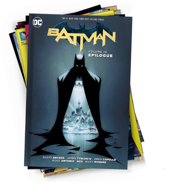 Colección 10 novelas gráficas DC Comics