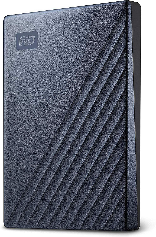 WD My Passport Ultra - Disco Duro portátil de 2 TB y USB Tipo C
