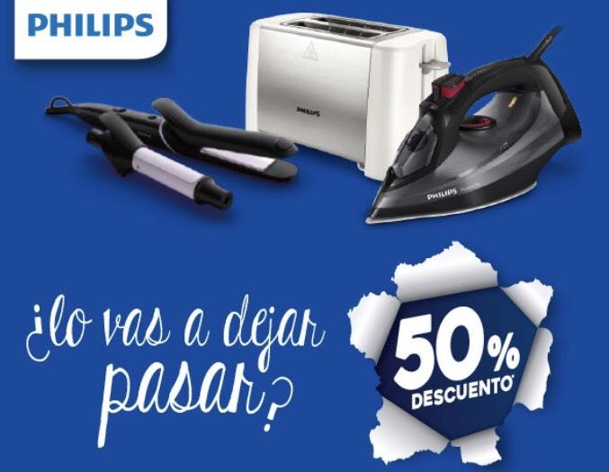 Productos Philips al 50%