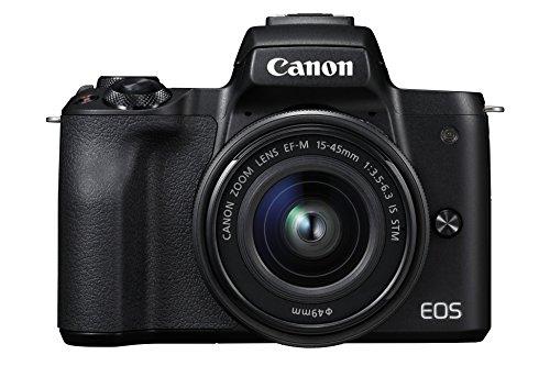 Canon EOS M50 con objetivo EF-M15-45mm