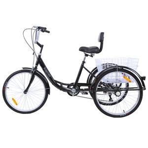Bicicleta tres ruedas 24 pulgadas