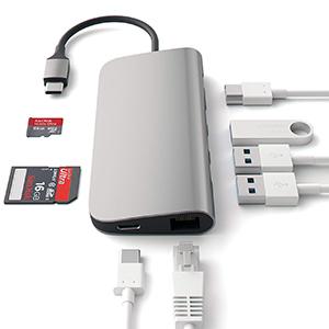 LOBKIN Hub USB-C 8 en 1 con Carga PD