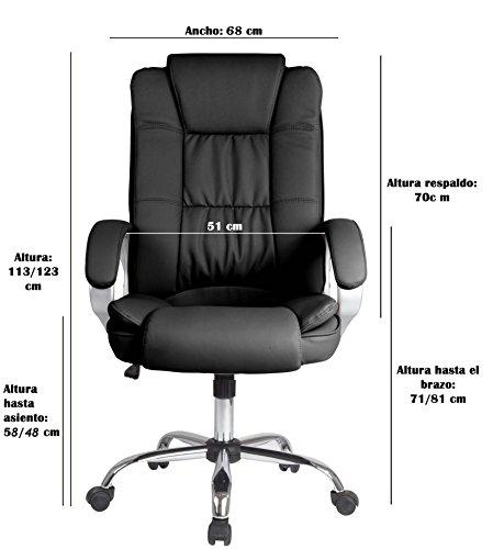 Venta Stock Confort 2 - Sillón de oficina elevable y reclinable
