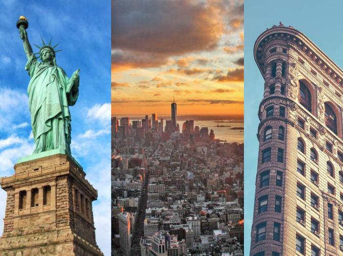 Vuelos directos a Nueva York en Septiembre desde 285€