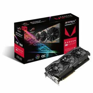 Tarjeta grafica ASUS Radeon RX Vega 56 ROG STRIX-VEGA56-O8G