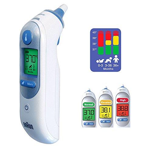 Braun IRT6520 - ThermoScan 7 termómetro digital auricular con precisión profesional