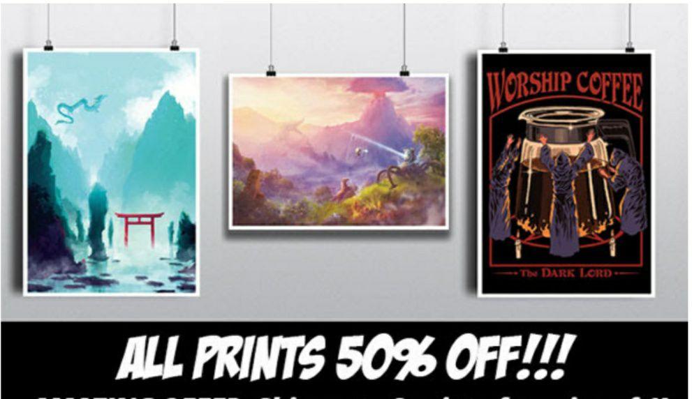 Posters geek por 5€