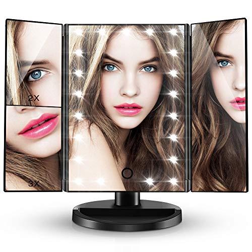 Espejo de Maquillaje 21 LEDS