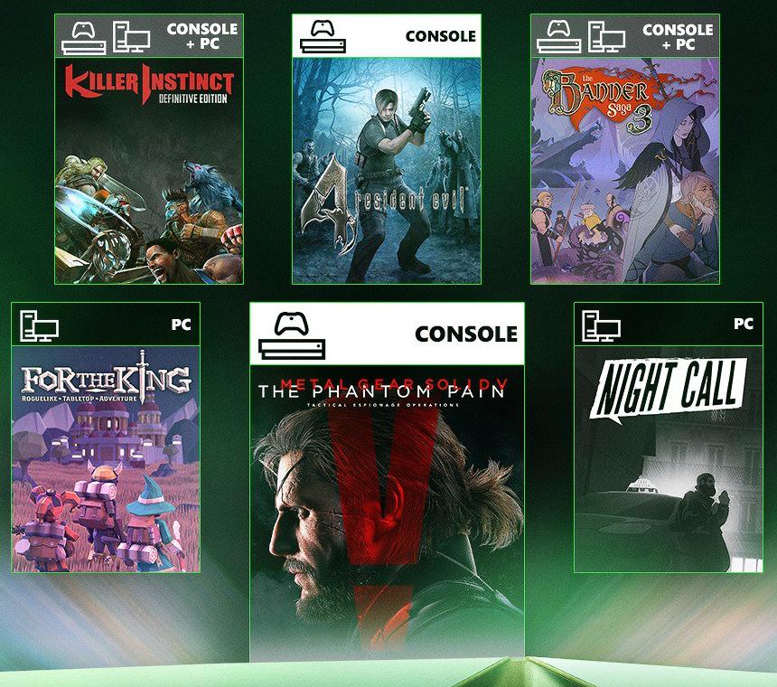 Nuevos Juegos Xbox Game Pass - Julio