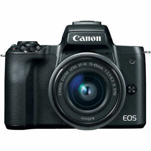 Canon EOS M50 +Tarjeta de SD Kingston 16GB