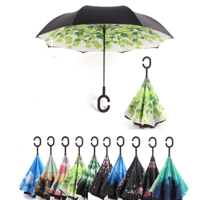 ¡Paraguas invertidos sólo 10€! Distintos modelos